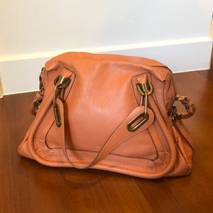 Chloe Paraty Bag in salmon